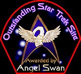Angel Swan Outstanding Star Trek Site Award